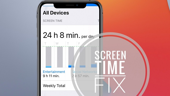 Screen Time Bug in iOS 14
