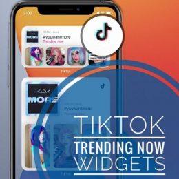 TikTok Trending Now Widget for Home Screen