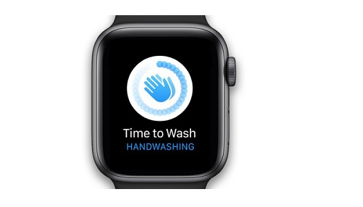 apple watch handwashing reminder