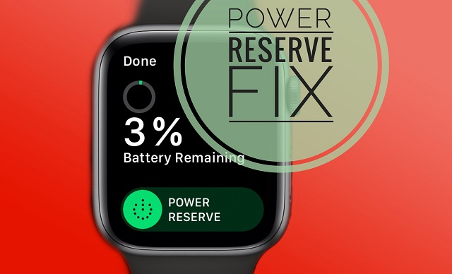 how to fix missing power reserve notification