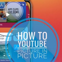 how to watch YouTube videos picture in picture