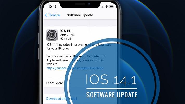 iOS 14. 1 Software Update