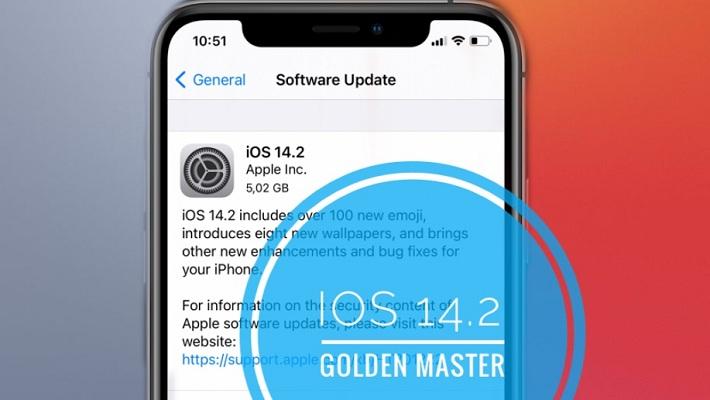 iOS 14.2 Golden Master Beta Update