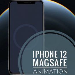 iPhone 12 MagSafe case animation