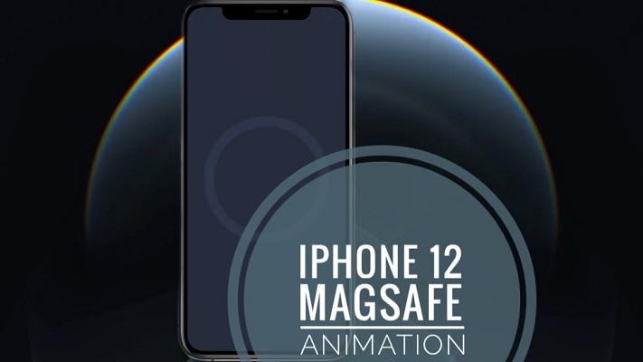 iPhone 12 MagSafe case animation