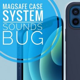 iPhone 12 MagSafe case lock screen sound bug