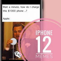 iPhone 12 Memes