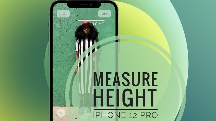 iPhone 12 Pro Height Measurement Feature