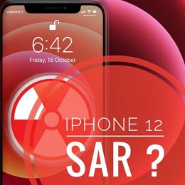 iPhone 12 SAR values are unknown
