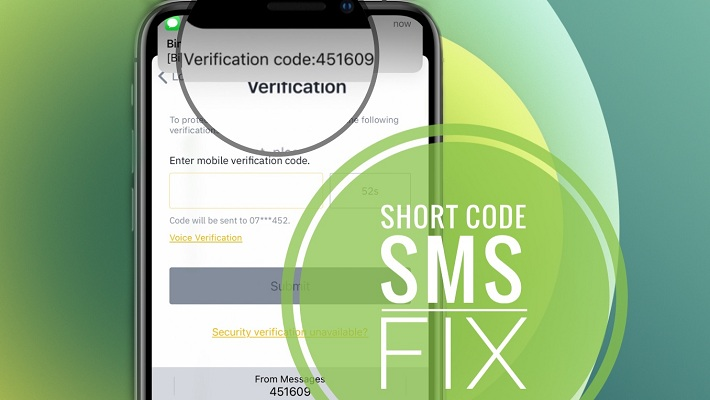 iPhone 12 Short Code SMS Fix