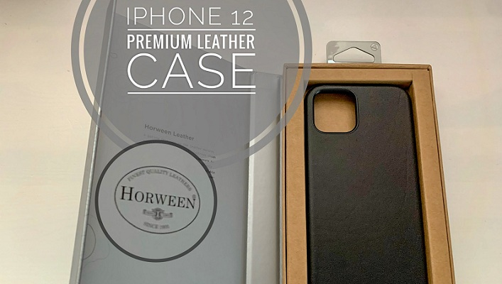 iPhone 12 leather case from Nomad