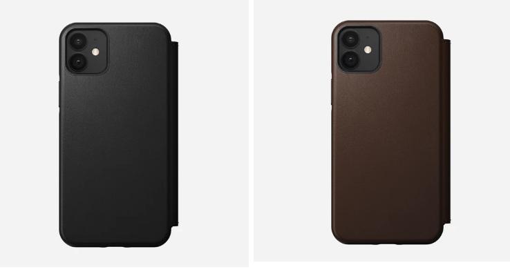 iPhone 12 leather folio cases