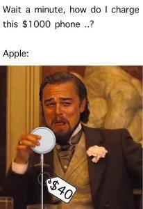 iPhone 12 leonardo di caprio meme