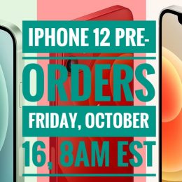 iPhone 12 pre-order date and time