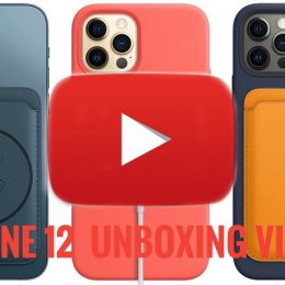 iPhone 12 unboxing videos
