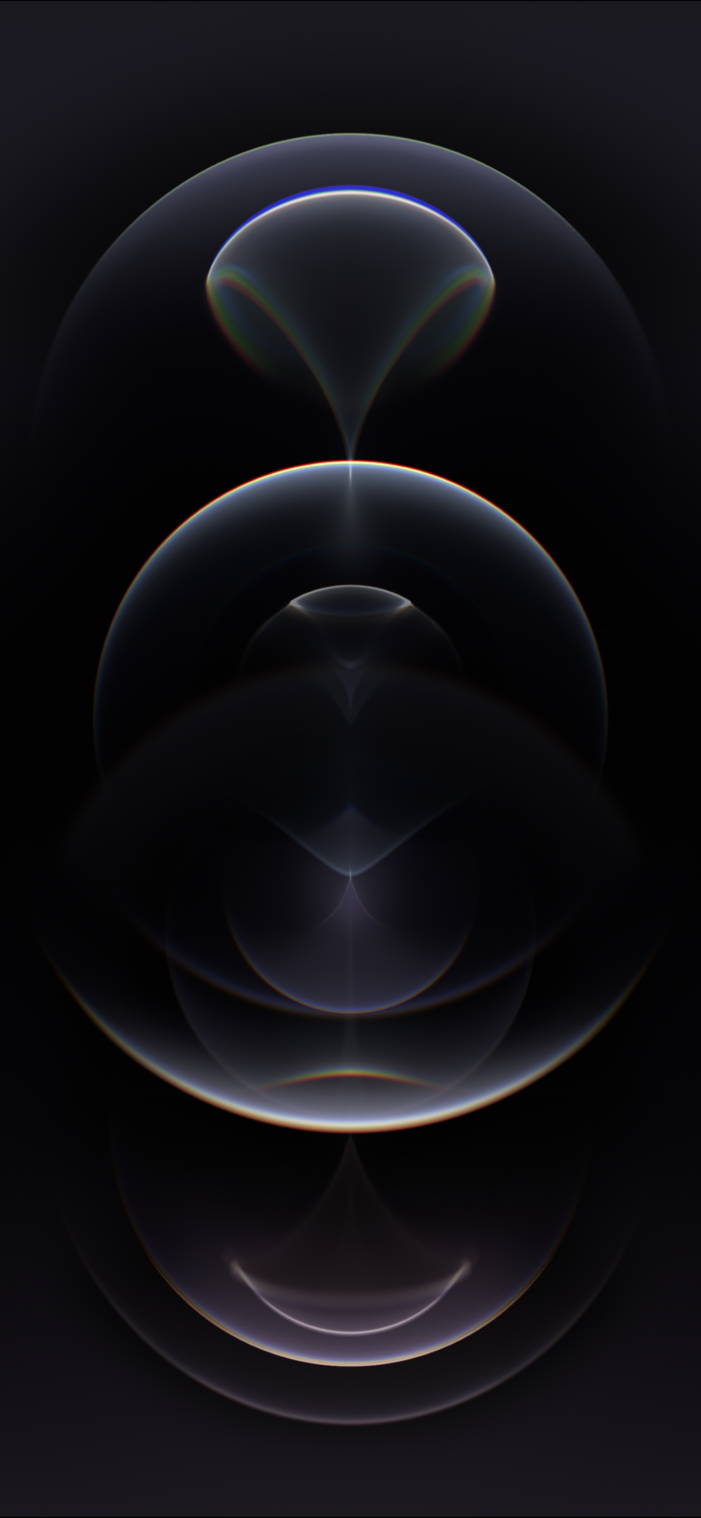 iphone 12 pro graphite wallpaper dark