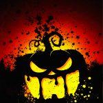 scary pumpkin halloween wallpaper
