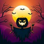 spooky pumpking wallpaper for iphone