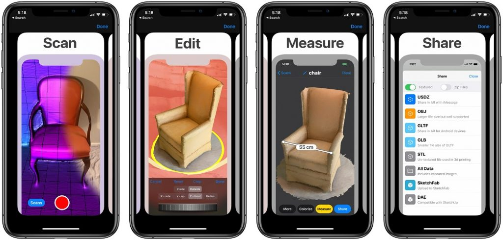 3d scanner app for iPhone 12 Pro