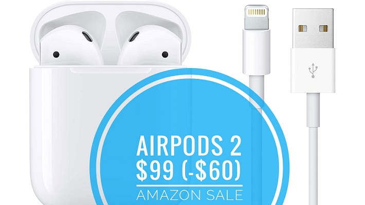 AirPods 2 on sale for $99
