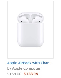 AirPods 2 sale on amazon
