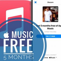 Apple Music 5 months free