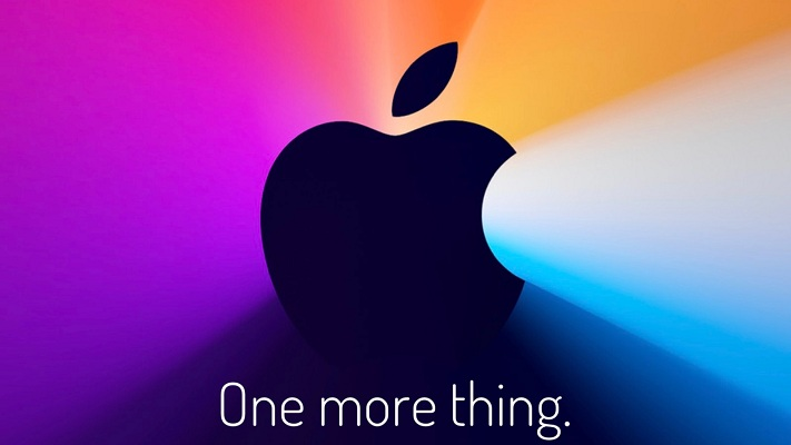 Apple 'One more thing' event theme