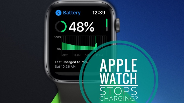 Apple Watch stops charging issue