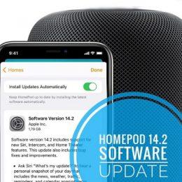 HomePod 14.2 Software Update