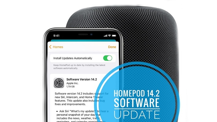 HomePod 14.2 Software Update