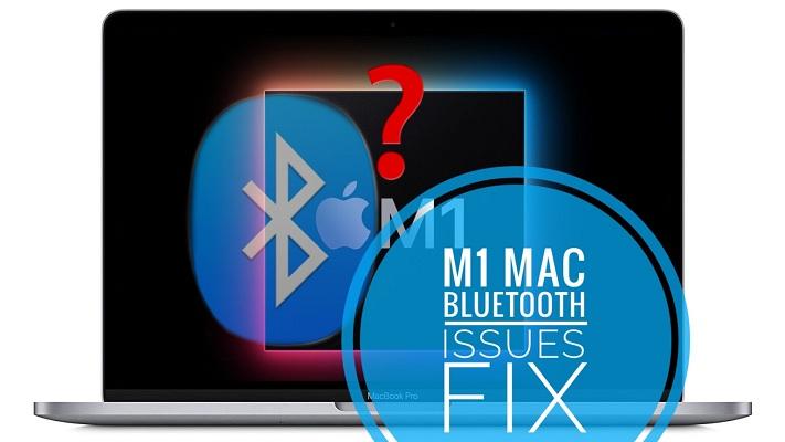 M1 Mac Bluetooth issues