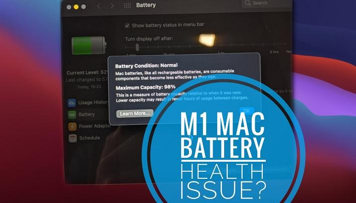 M1 Macbook Air Battery Health issue
