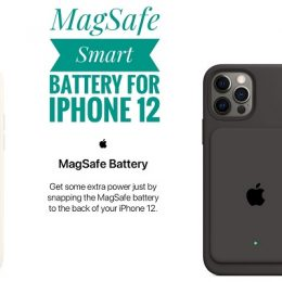 MagSafe External Battery pack for iPhone 12