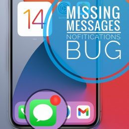 Messages Notifications missing on iPhone