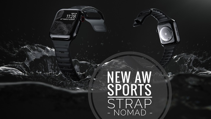 Premium Apple Watch Sports Strap from Nomad