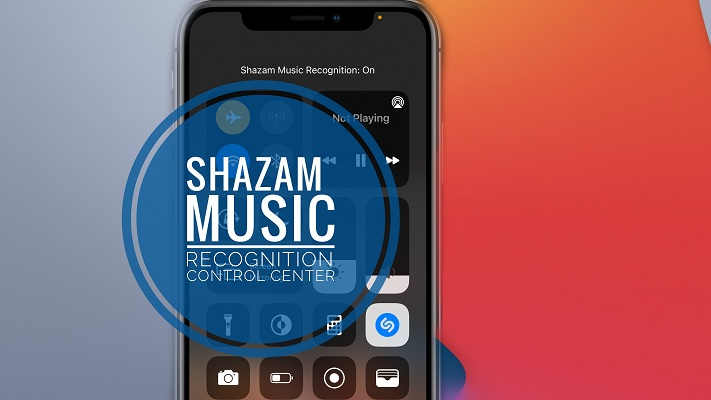 Shazam Music Recognition on iPhone in iOS 14