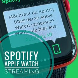 Spotify music streaming on Apple Watch