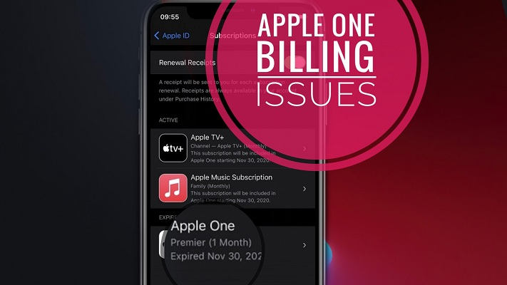 apple one billing issue