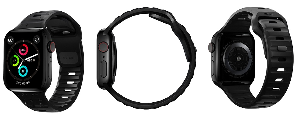 apple watch sport band nomad all angles