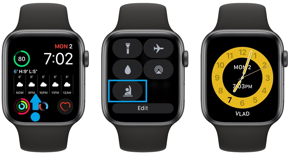 how to enable Schooltime on Apple Watch