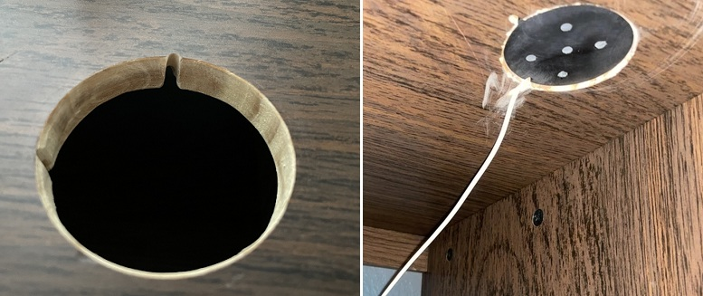 how to install MagSafe flush mount adapter