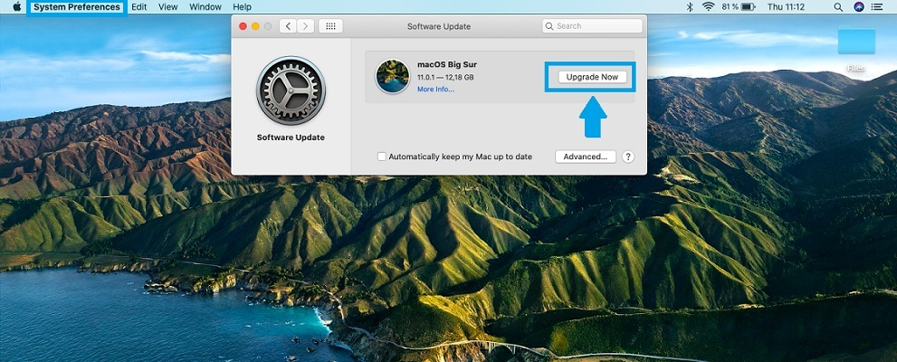 how to update to macOS Big Sur
