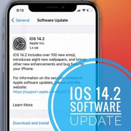 iOS 14.2 software update