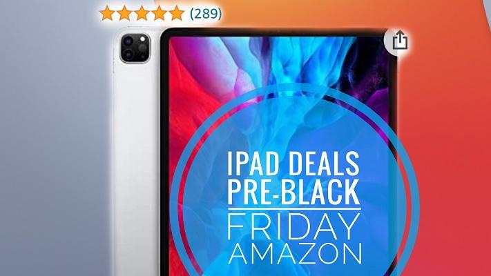 iPad pre-Black Friday deals on Amazon