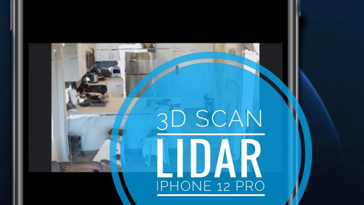 iPhone 12 Pro 3D scan with LiDAR