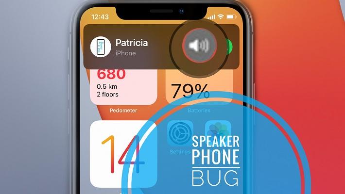 iPhone speakerphone bug in iOS 14.2