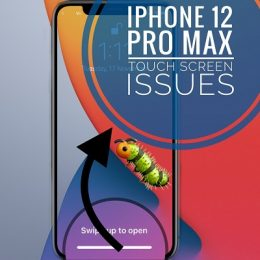 iphone 12 pro max unresponsive screen bug