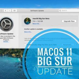 macOS 11 Big Sur Update