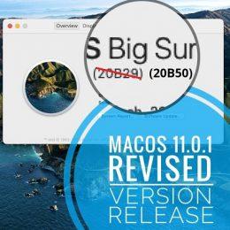 macOS 11.0.1 Big Sur Revised Version