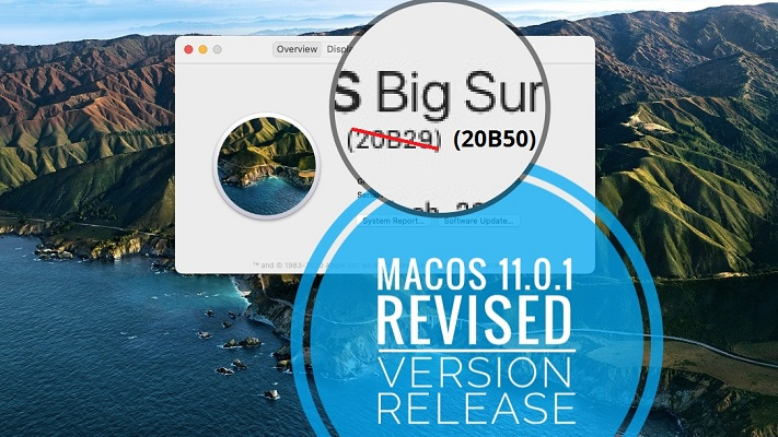 macOS 11.0.1 Big Sur Revised Version